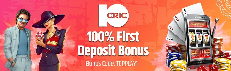 10Cric Casino Welcome Bonus