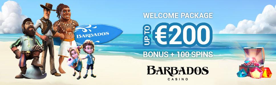 Barbados Casino €/$200 Welcome Bonus