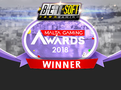Betsoft Gaming wins the Best Mobile Gaming Provider Title at the Malta Gaming Awards!