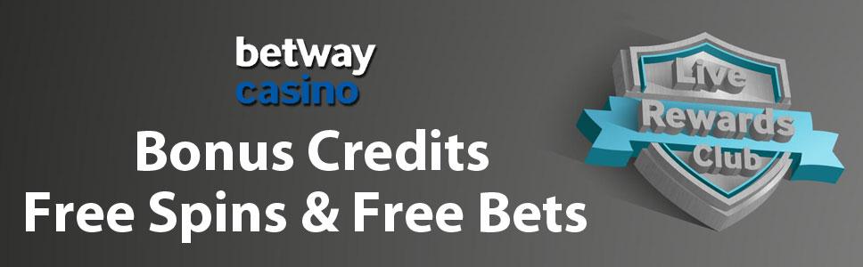 Betway Live Casino Rewards Club