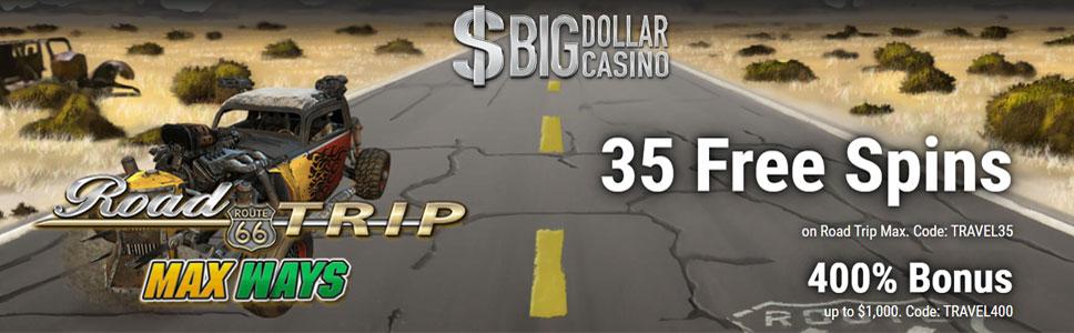 Big Dollar Casino No Deposit Bonus Get 35 Free Spins