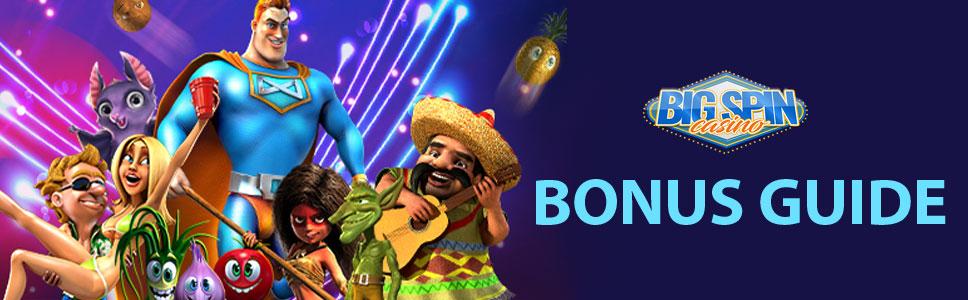 Big Spin Casino Bonuses & Promotions