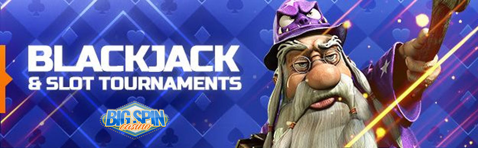 BigSpin Casino Slots & Blackjack Tournament