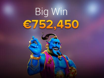 A Lucky Bitstarz Player Scoops a €752,450 Win on Azrabah Wishes Slot