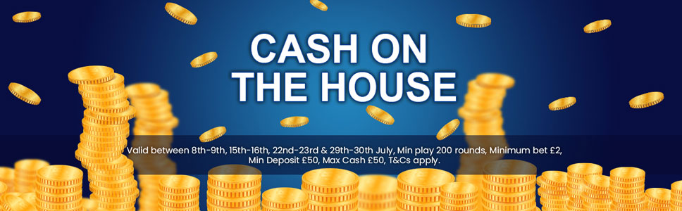 Chomp Casino Cash on the House Offer