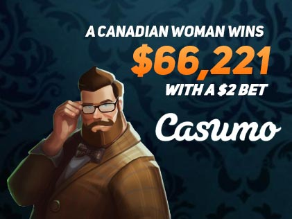 A Canadian Woman Wins $66,221 with a $2 bet on Holmes and the Stolen Stones Slot at Casumo Casino