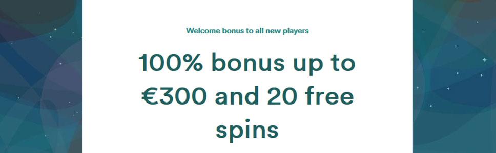 Casumo Casino Welcome Bonus