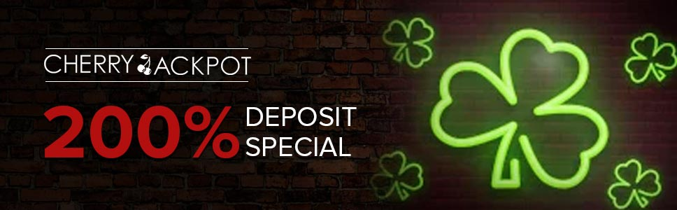 Cherry Jackpot Deposit Special Promotion