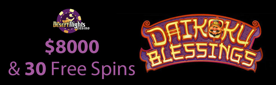 Desert Nights Casino New Games Bonus