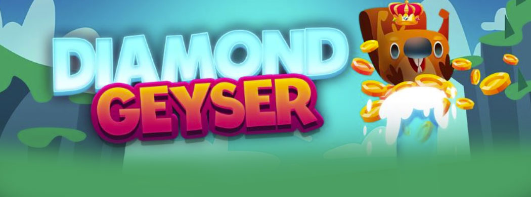 Get a Free Bonus & Free Spins to Try the New Diamond Geyser Mobile Slots at Pocketwin Casino