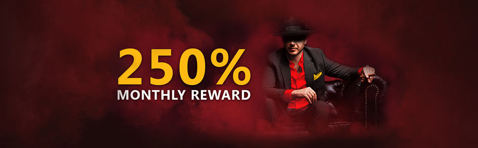 Domgame Casino Monthly Reward