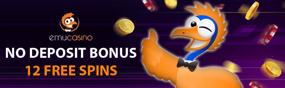 EmuCasino No Deposit Bonus