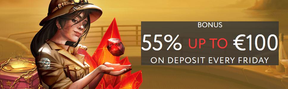 EU Slot Casino Reload Offer