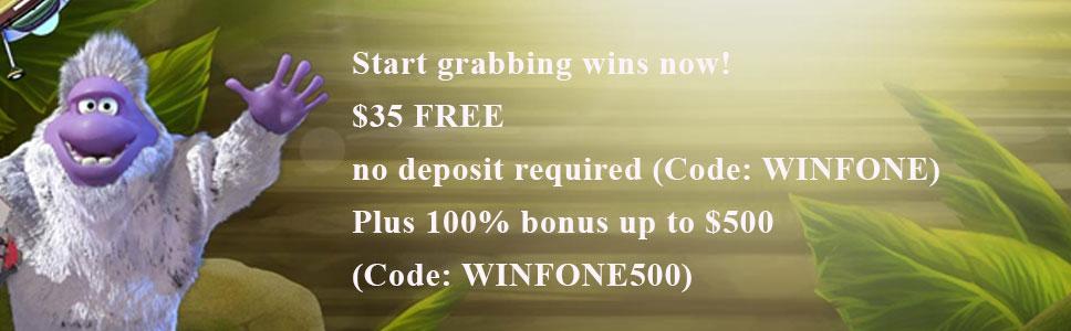 Fone Casino No Deposit Bonus - Get $35 on Sign Up