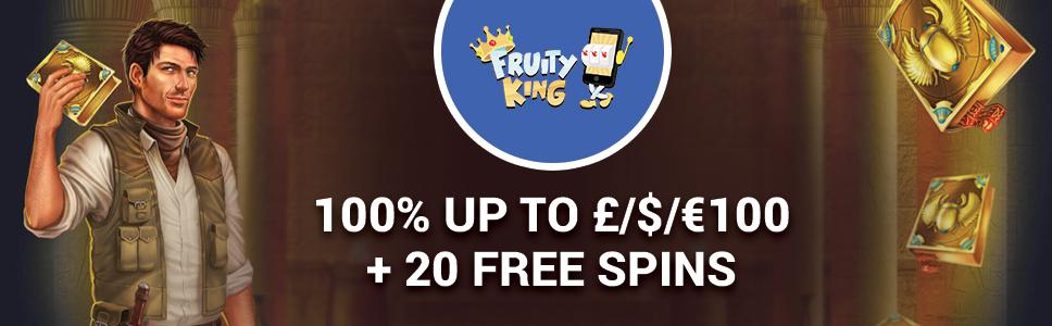Fruity King Casino No Deposit Bonus Promo Codes 2020