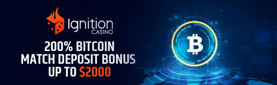 Ignition Casino Bitcoin Welcome Offer