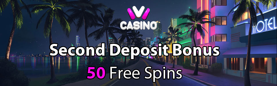 Ivi Casino Second Deposit Bonus 50 Free Spins