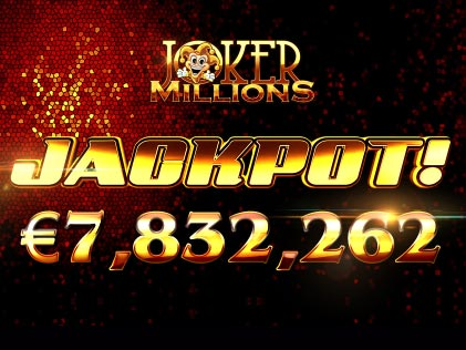 Yggdrasil Pays €7.83 million Jackpot on Joker Millions to a Leo Vegas Casino Player