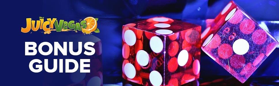Juicy Vegas Casino Bonus & Promotions