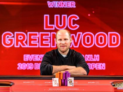 Luc Greenwood Scoops £119,600 in the Opening Event of 2019 British Poker Open