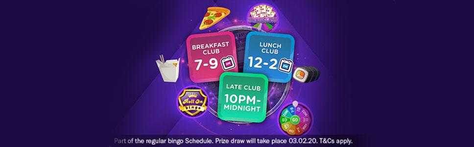Mecca Bingo Club Zone Promotion