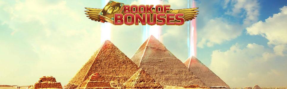 Netbet Book of Bonuses Promotion