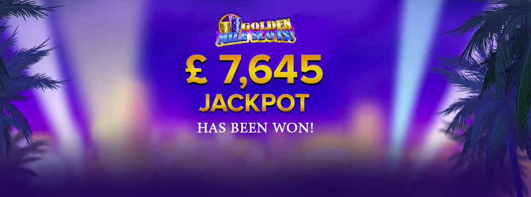 A £1.60 Spin on Golden Mile Slot Machine Bags £7,654 Jackpot Win at m Fortune Casino