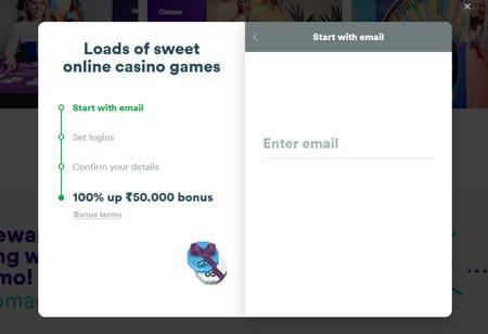 Casumo Casino Sign Up