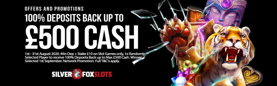 Promo Welcome Cashback 100 Slot