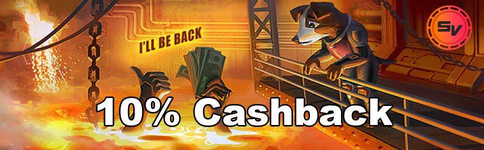 SlotV Casino Cashback Bonus