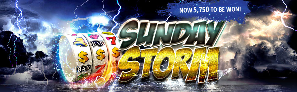 Spartan Slots Sunday Storm Tournament