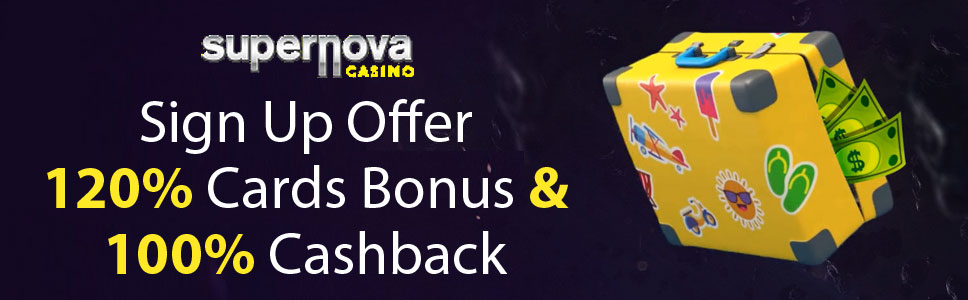 Supernova Casino Sign Up Offer