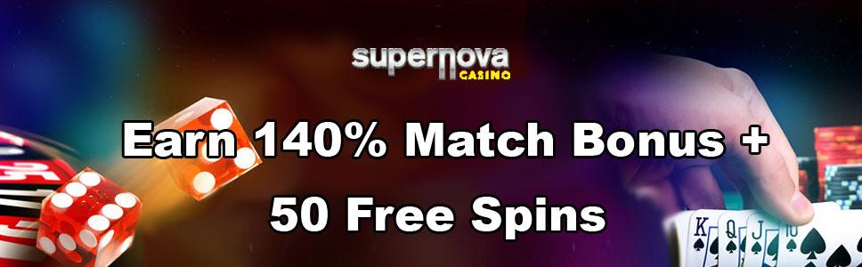 Supernova Casino Weekend Promo