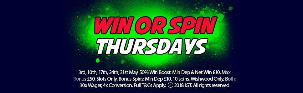 Kerching Casino 10 Free Spins - Win Or Spin Thursdays Bonus