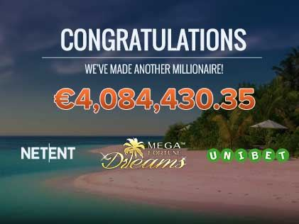 Netent Delivers Multimillion Jackpots to Two Casinos on Mega Fortune Series
